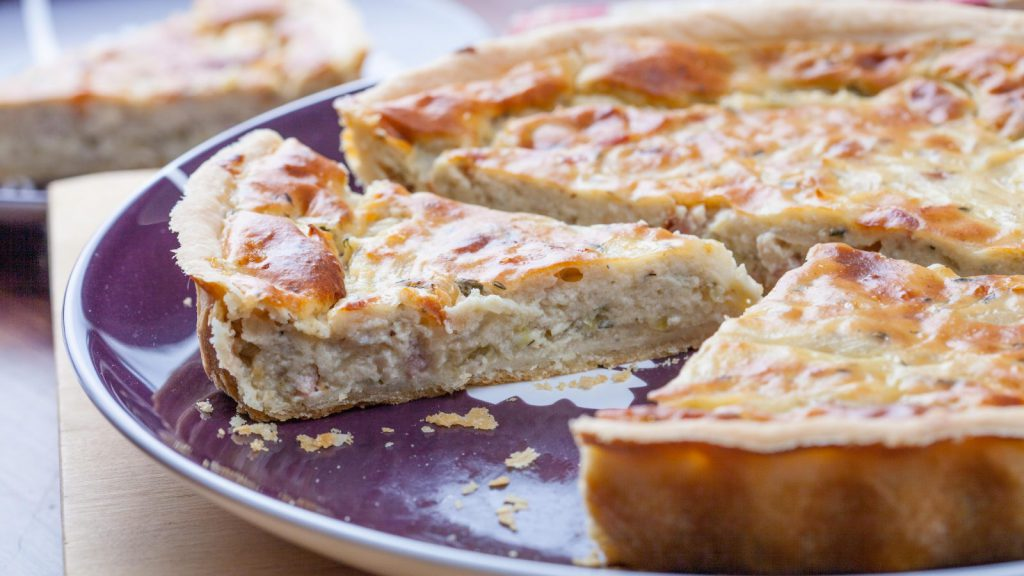 Alsace Onion Tart