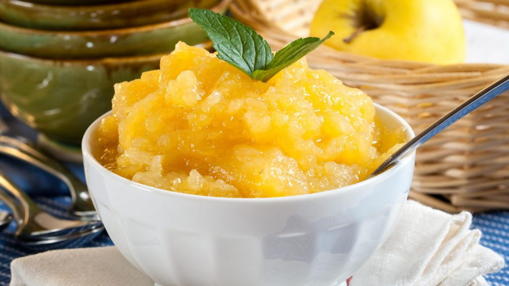 Apple Compote - Sweet Apple Sauce