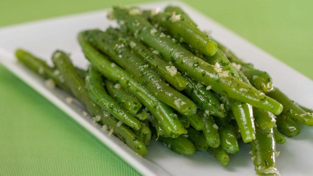 Green Beans Sautéed in Persillade
