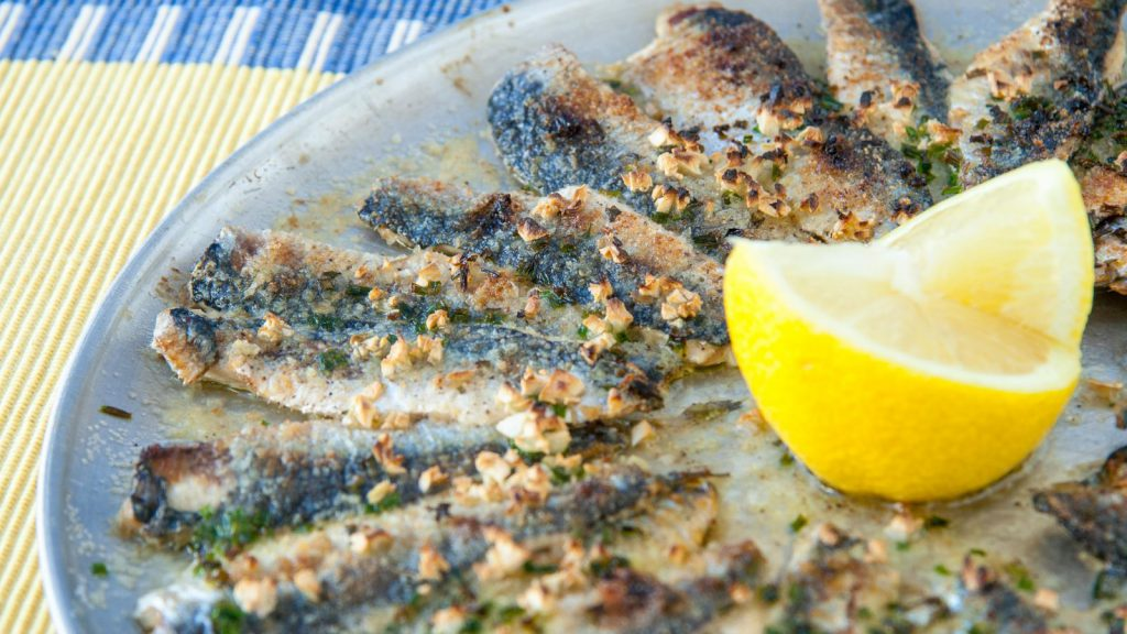 Broiled Deboned Sardines