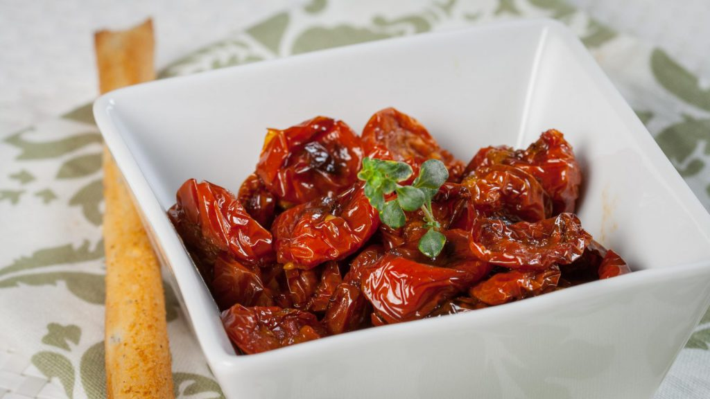 Dried Tomatoes with Cumin