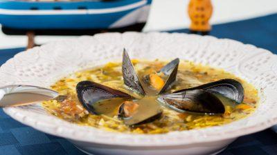 Mussels Soup of Etretat