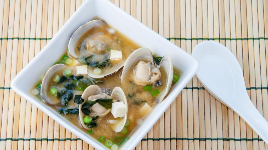 Okinawa Island Clam Miso Soup