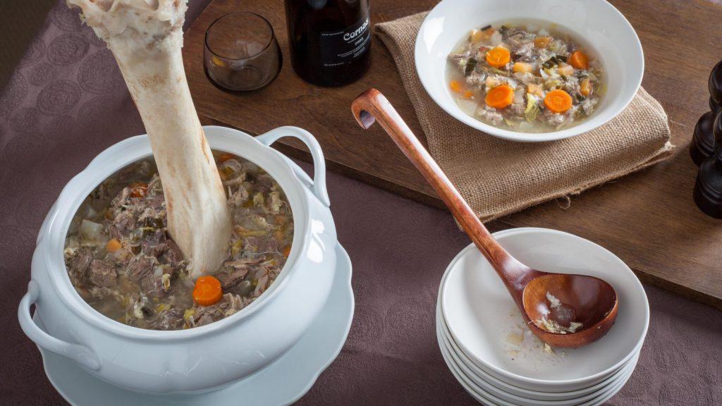 Potage à la jambe de bois (Wooden Leg Soup)