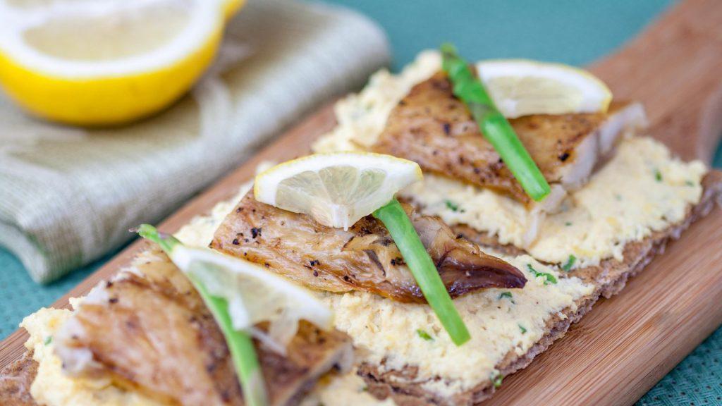 Smoked Mackerel Smørrebrød