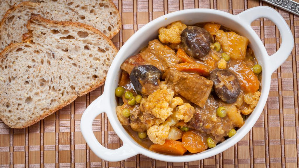 Beef Stew with Shiitakes and Vegetables