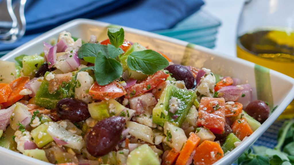 Country Greek Salad - Horiatiki Salata