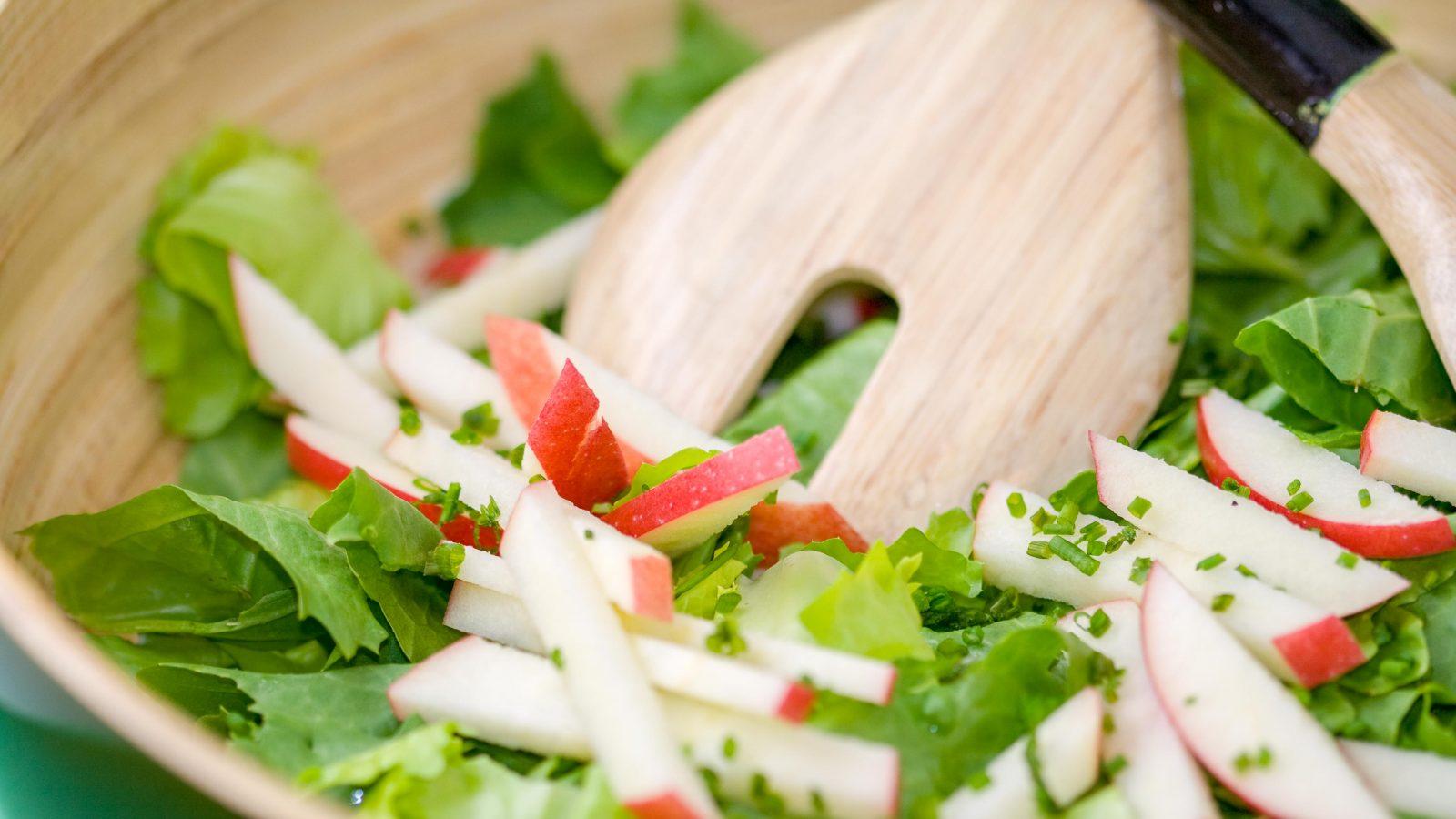 Escarole Salad Normandy Style Online Culinary School Ocs