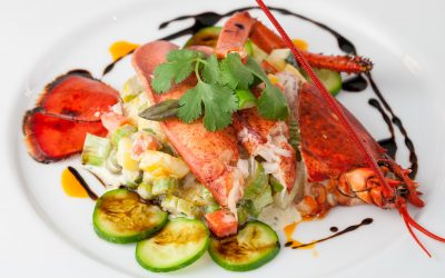 Lobster and Mango Salad
