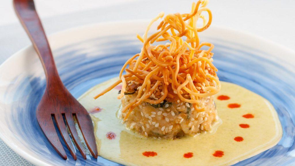 Crab Cakes Wasabi Sauce