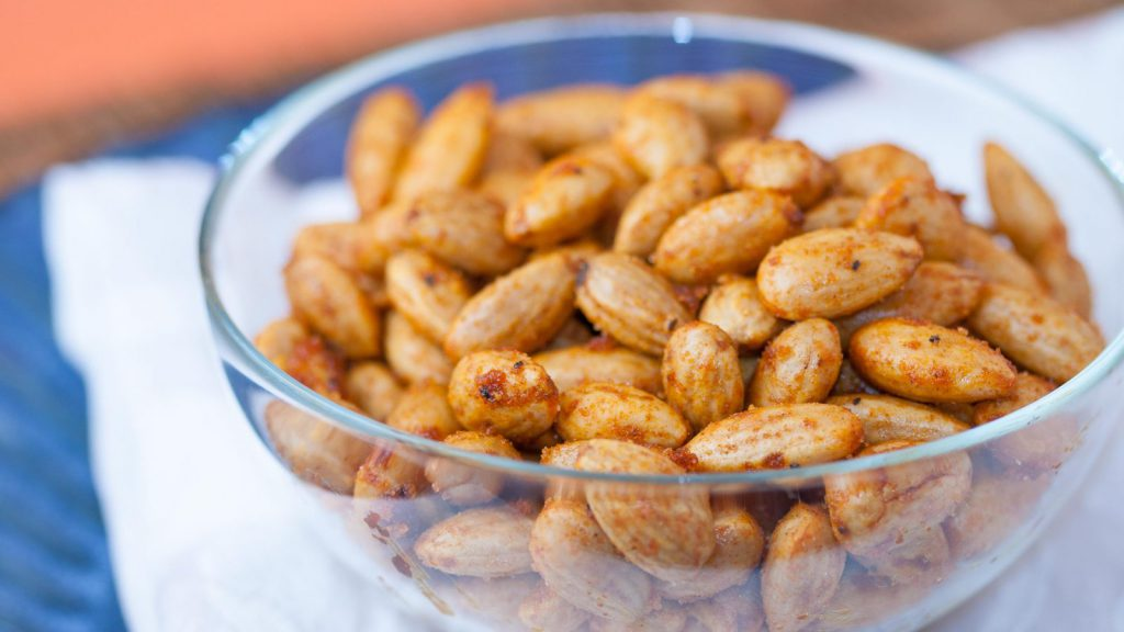 Paprika Spiced Almonds