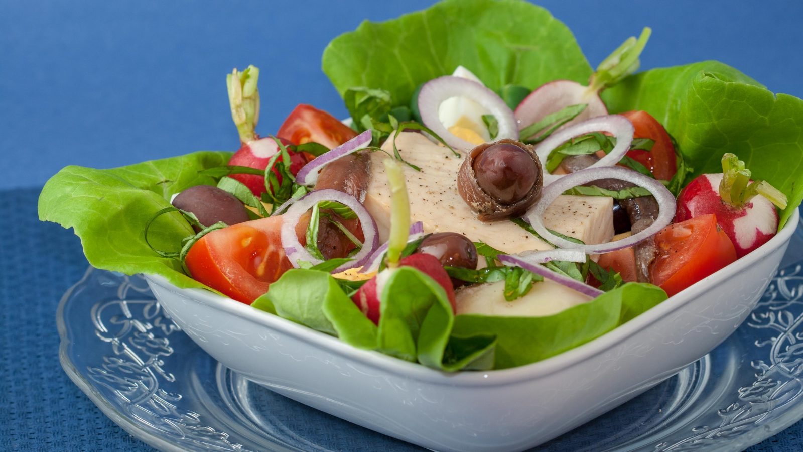 Salad Nicoise With Grilled Tuna Steaks Online Culinary School Ocs