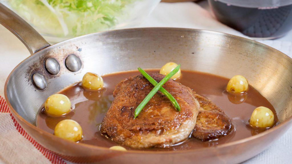 Seared Foie Gras Port Wine Sauce