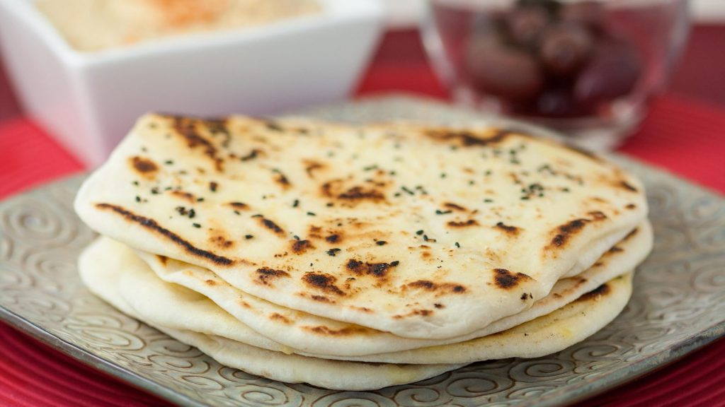 Turkish Pide Bread - Pita Bread