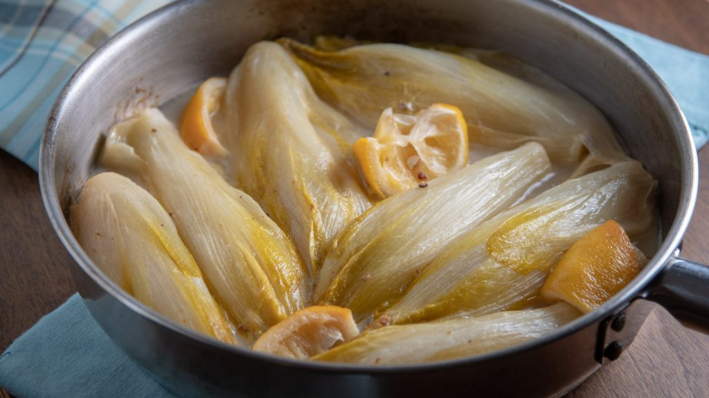Braised Belgian Endives