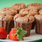 Salted Butter Dark Chocolate Cakes