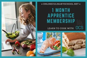 Online Cooking Classes Gift Card - 1 Month Apprentice Membership