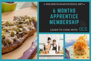 Online Cooking Classes Gift Card - 6 Month Apprentice Membership